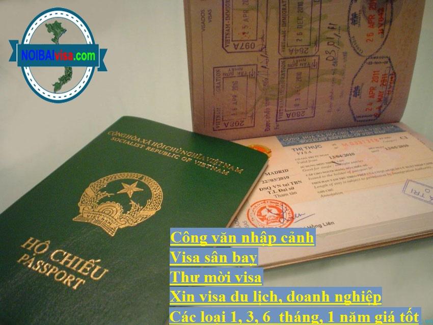 Visa Thị Thực Việt Nam Ký Hiệu DN