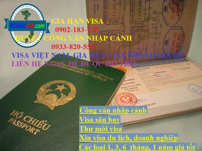 Làm Gia Hạn Visa Du Lịch Tại Khu Vực Hà Nội