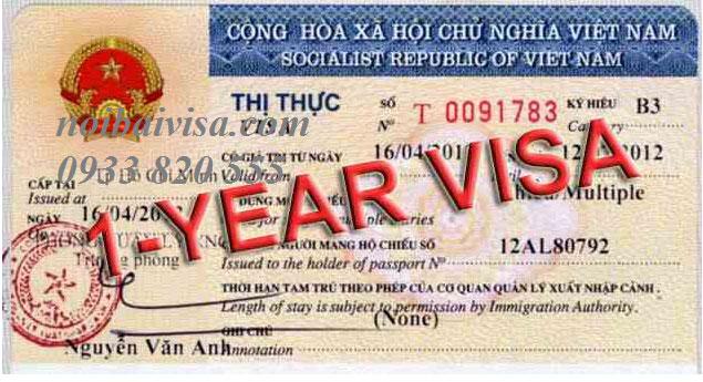 Xin Visa 1 Năm Cho Người Nhật Bản đã Có Giấy Phép Lao động