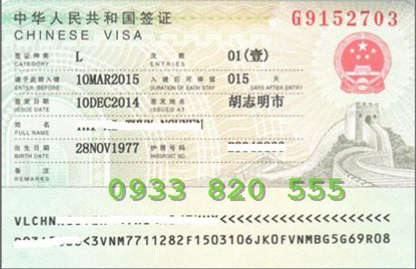 Visa Trung Quốc du lịch uy tín giá rẻ tại Hà Nội